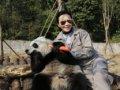 刘嘉玲调戏大熊猫遭拒