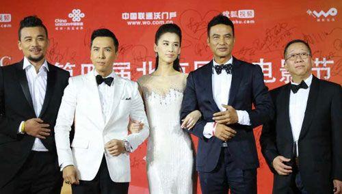 《冰封:重生之门》剧组欢乐亮相北京国际电影节