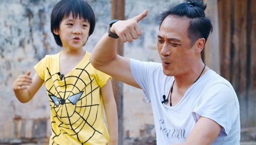 《爸爸去哪儿》第二季看点:费曼念异次元咒语