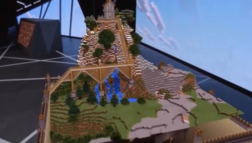 E3 微软《Minecraft.我的世界》Hololens版