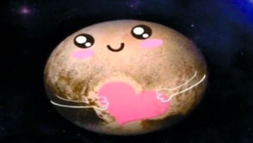 """你好啊,""""冥王星""""!"""