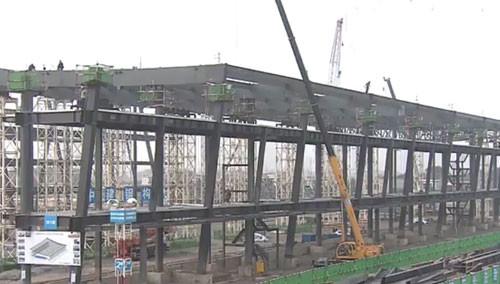 国际会展中心建设提速 有望明年底迎客