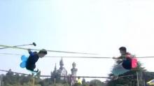 绳斗士20151008期:17岁高中美术生绳上对决