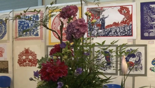 十万件湘绣及工艺美术品荟萃湖南国际会展中心