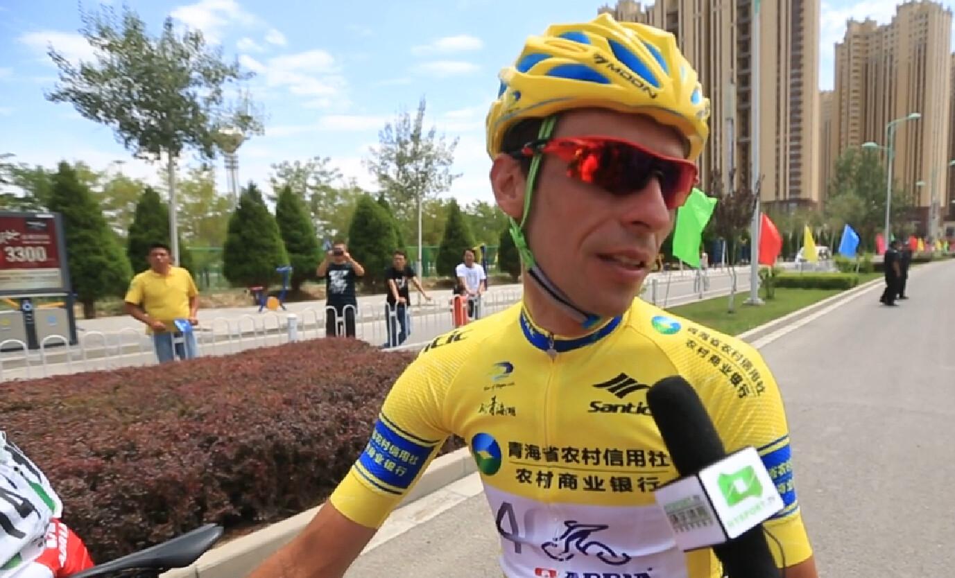 2015环青海湖国际公路自行车赛:第十三赛段赛后采访