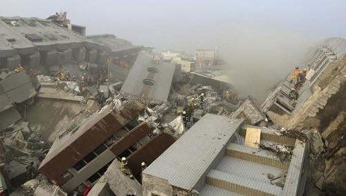 台湾:高雄发生5.6级地震