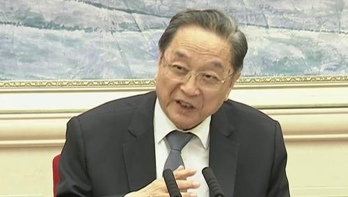俞正声参加海南代表团审议